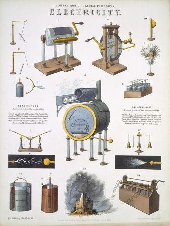 Electricity, illustrations of Natural Philosophy, published in 'Popular Diagrams'