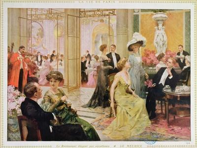 Hotel Meurice, 1909