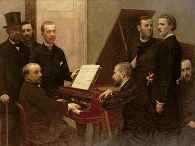 Around the Piano, 1885