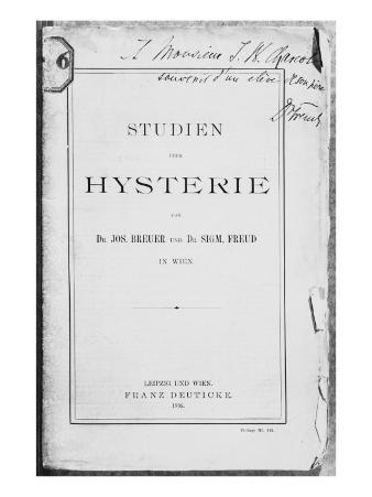 Front Cover of 'Studien uber Hysterie' by Josef Breuer