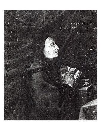 Portrait of Thomas Vicary