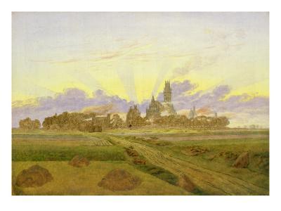 Dawn at Neubrandenburg