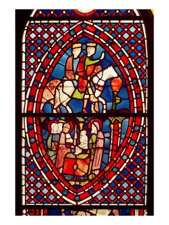 The Magi, from Saint-Germain-des-Pres or Sainte-Chapelle