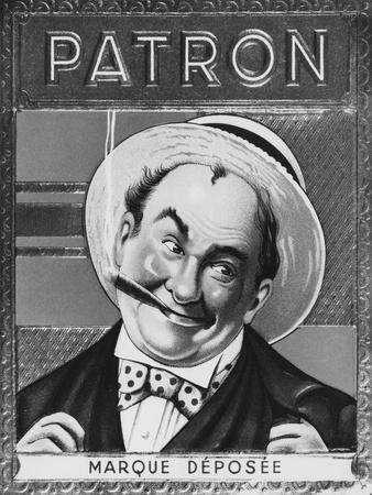 Boss' Cigar Box Label, early 20th century