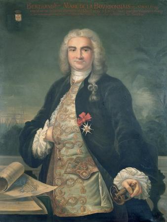 Bertrand-Francois Mahe de la Bourdonnais