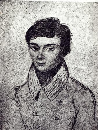 Portrait of Evariste Galois