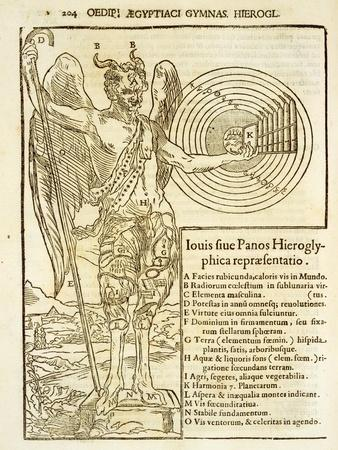 Pan, the Universal God, and the Elements he Represents