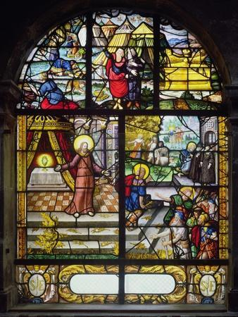 Window Depicting the Gathering of the Manna, 1612-22