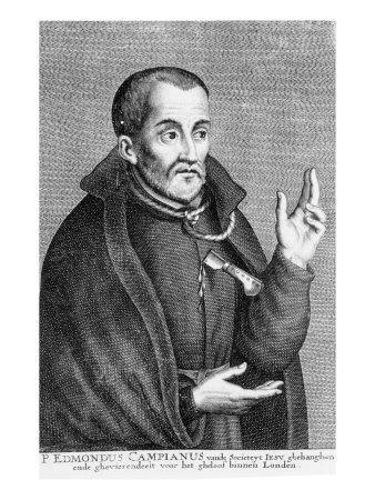 Saint Edmund Campion, from a Print Made by Jacques Neeffs