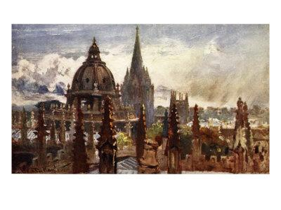 Oxford, from the Sheldonian Theatre, 1903