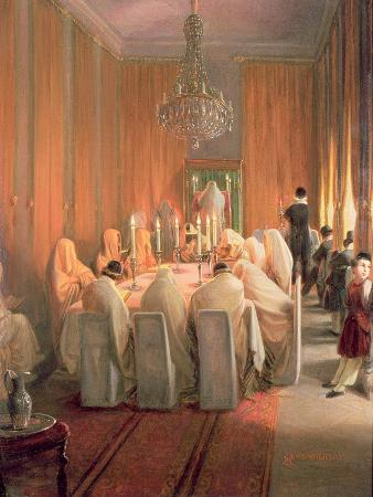 The Rothschild Family at Prayer