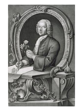 Portrait of Georg Dionysius Ehret