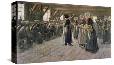 Spinning Workshop in Laren, 1889