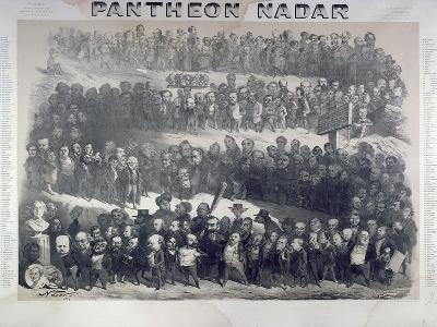 Nadar Pantheon, 1854, Paris