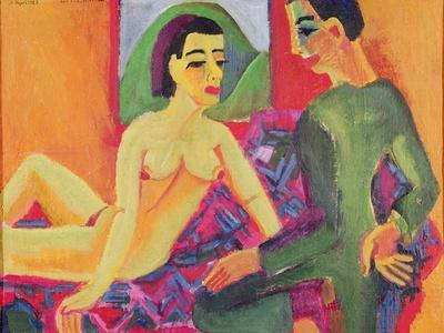 The Couple, 1923