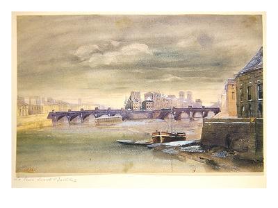 The Pont-Neuf and the Ile de la Cite, 1881