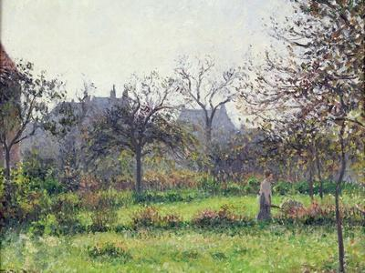 Morning Sun, Autumn, Eragny, 1897
