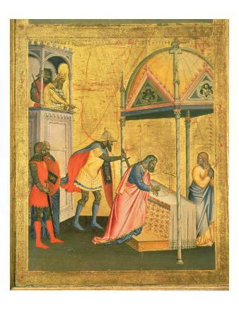 The Martyrdom of St. Matthew, from Altarpiece of St. Matthew and Scenes from his Life, c.1367-70