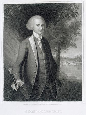 John Dickinson, engraved by John B. Forrest