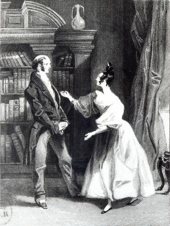 illustration from 'Pride and Prejudice' by Jane Austen