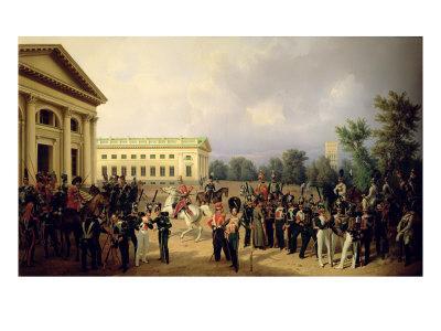 The Russian Guard in Tsarskoye Selo in 1832, 1841