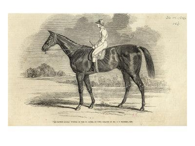 Sir Tatton Sykes', Winner of St. Leger, from 'The Illustrated London News', 26th September 1846