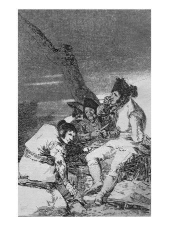 Lads Making Ready, Plate 11 of 'Los caprichos', pub. 1799
