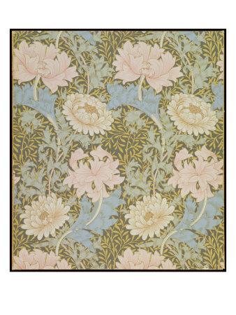 Chrysanthemum' Wallpaper, 1876