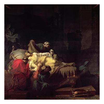 Alcestis Sacrifices Herself to Save her Husband Admetus, King of Pherae, 1785