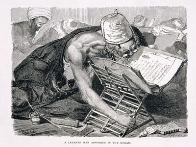 A Learned Man Absorbed in the Koran, 19th century