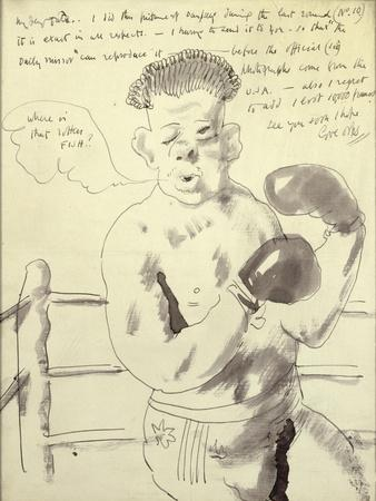 A Collection of Eight Illustrated Letters to his Friend Duncan Tate