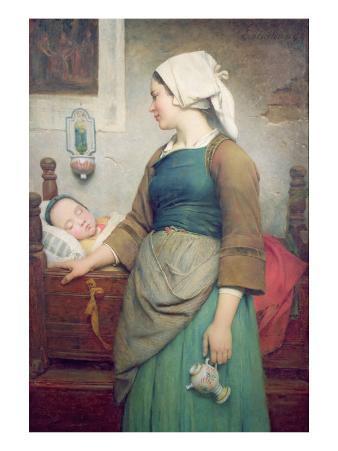 Sweet Slumber, 1875