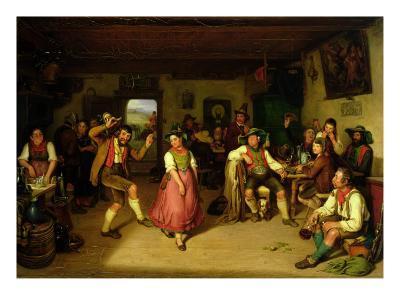 Target Shooting and Dancing in Oberbayern, 1841