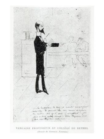 Verlaine Teaching at the Institution Notre-Dame in Rethel, 1877-79
