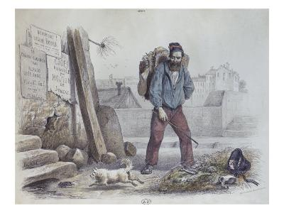 Starved Man During the Paris Commune, 1870