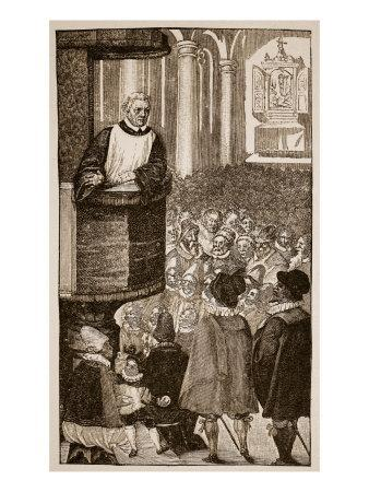 Martin Luther Preaching, C.1517