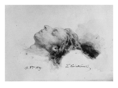 Frederic Chopin on His Deathbed, 17th October 1849