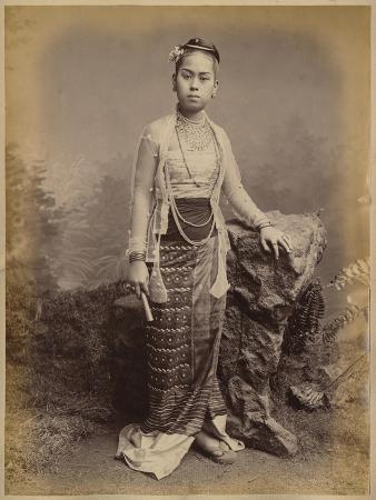 Young Burmese Girl, C.1875