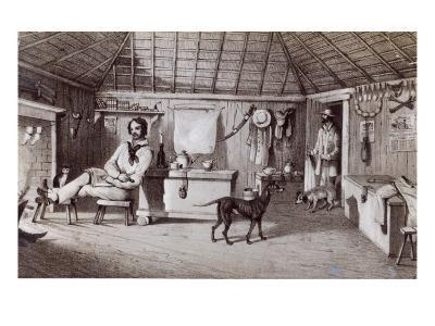 The Squatter's First Home, C.1847