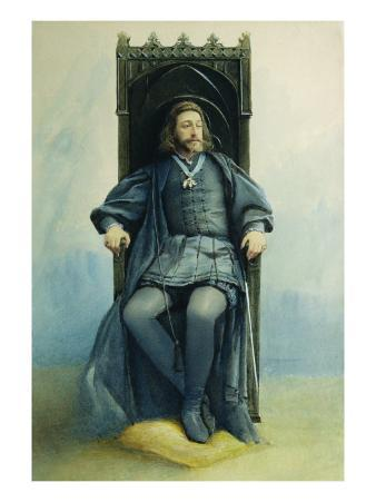 Grand Duke Konstantin Konstantinovich as Hamlet in Theatre Play by William Shakespeare