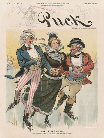 'One of the Causes', Cover from 'Puck Magazine', Vol. XLIV, No. 1138, Dec. 28th 1898