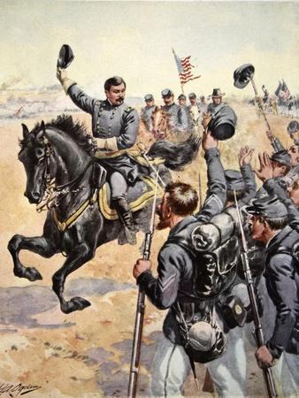 General Mcclelland at the Battle of Antietam,September 17th 1862