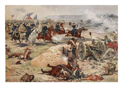 General Sheridan's Final Charge at Winchester, September 19th 1864