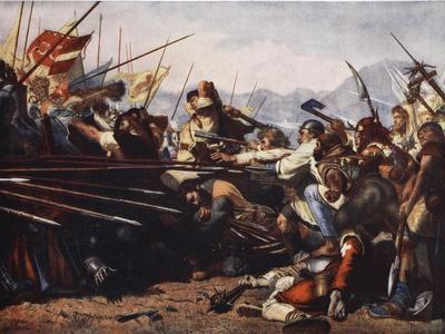 The Battle of Sempach, 1386