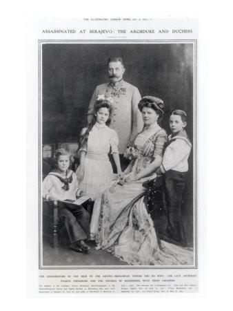 Portrait of Archduke Franz Ferdinand of Austria