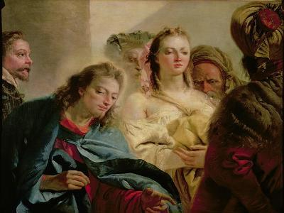 Christ and the Adulteress, 1751