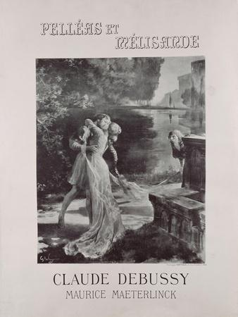 Frontispiece to 'Pelleas and Melisande', by Claude Debussy