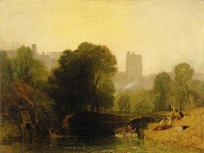 Near the Thames Lock, Windsor, c.1809