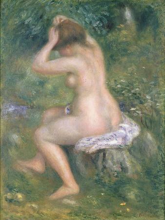 A Bather, c.1885-90