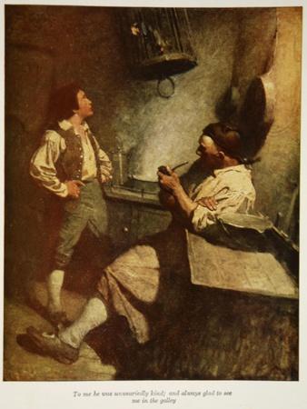 Illustration from 'Treasure Island' by Robert Louis Stevenson, 1911